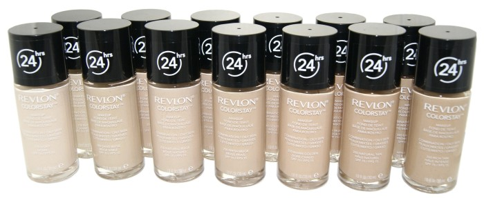 podkłady matujące marki Revlon